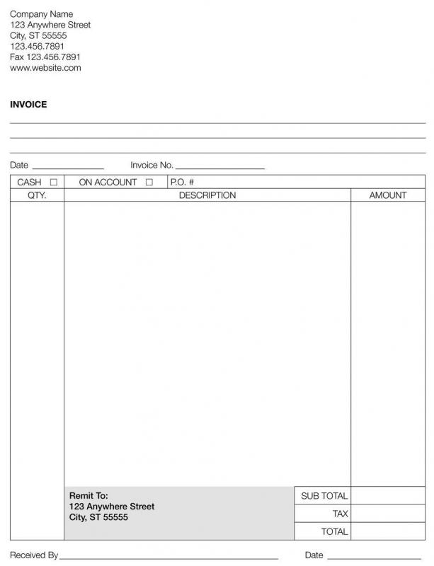 Billing Invoice Template What Is A Commercial Invoice With Picture