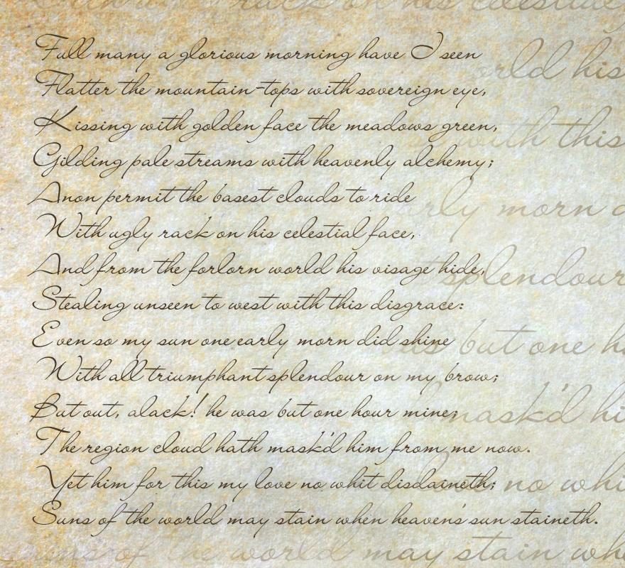 What Are the Most Common Shakespearean Sonnet Themes?