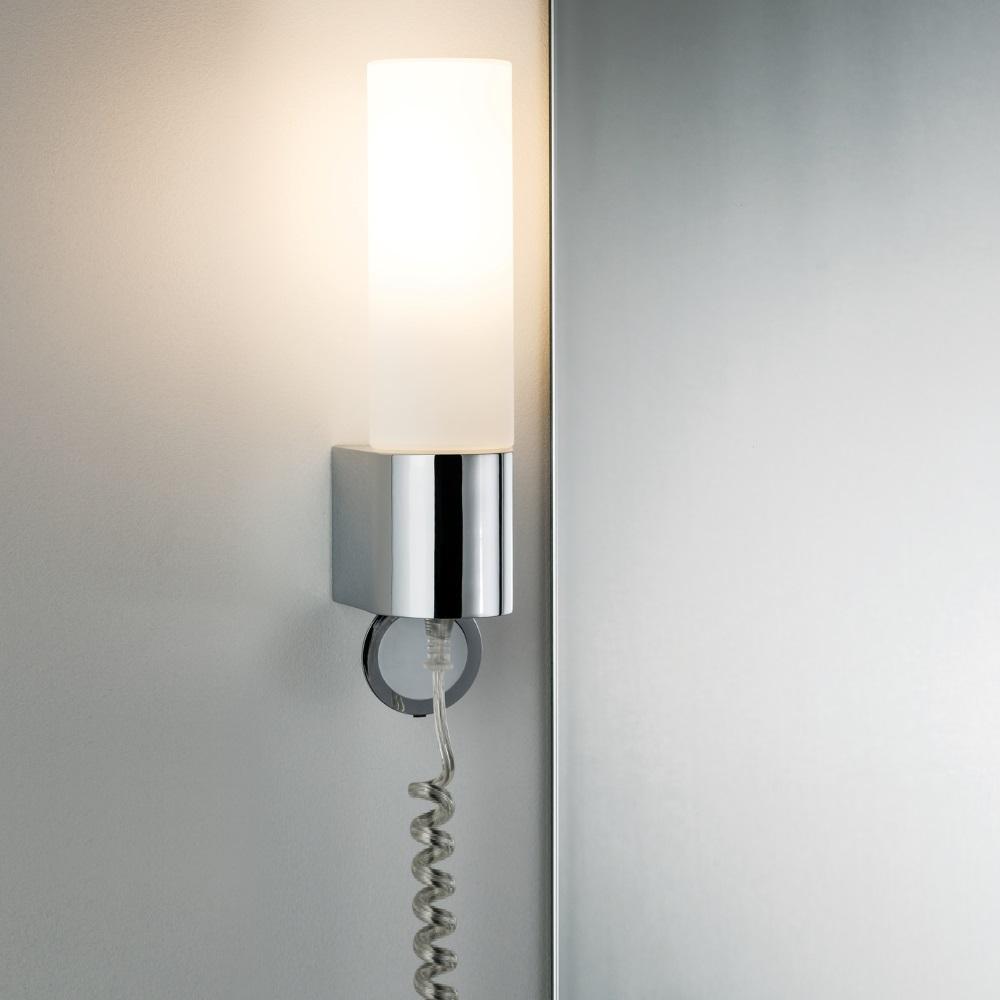 Badezimmerlampe Mit Steckdose | Details Zu Spiegelleuchte Pipe 30 ...