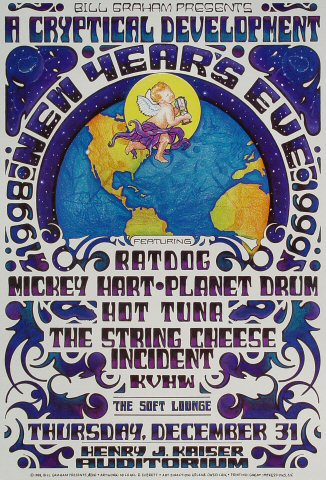 RatDog Poster from Henry J. Kaiser Auditorium on 31 Dec 98: 13