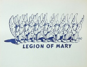 Legion Of Mary (vintage handbill available from Wolfgang's Vault)