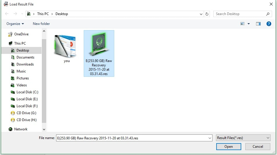 Wondeshare Data Recovery Guide - Resume Recovery
