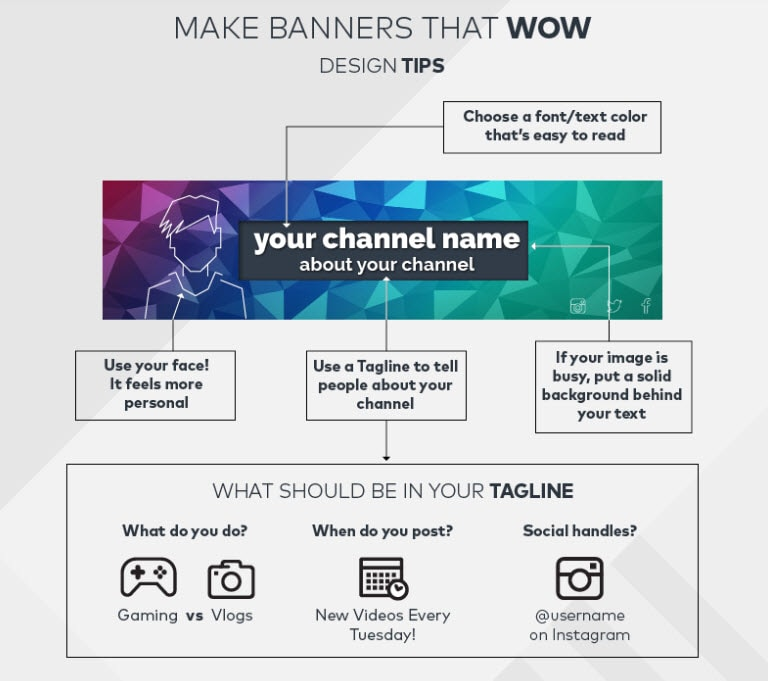 How to Make Awesome YouTube Channel Art