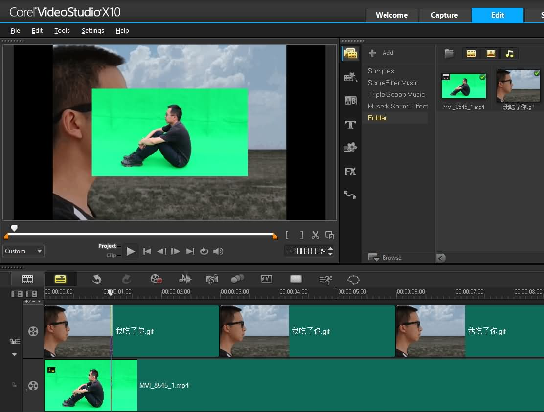 Corel Videostudio X9 Chroma Key Tutorial How To Use Green Screen In Corel Videostudio