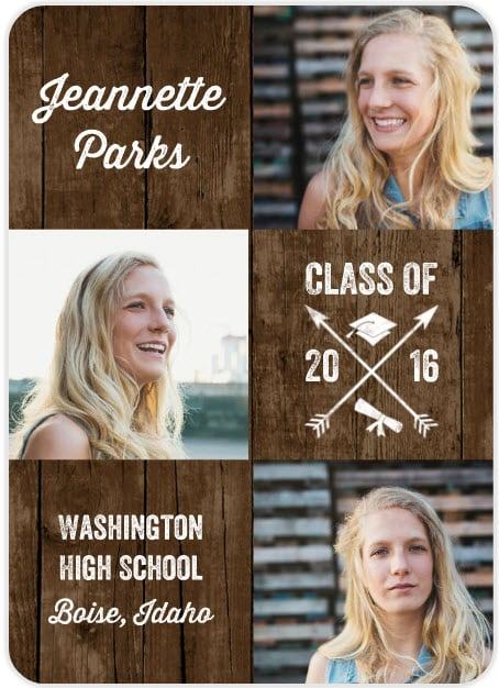 Top 20 Sites To Make Graduation Party Invitations - graduation photo invitations