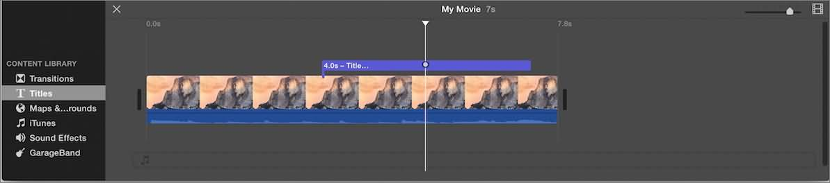 How to Make a Cool YouTube Video Intro in iMovie
