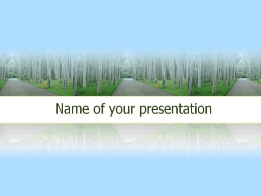 Free Nature PowerPoint Templates - Wondershare PPT2Flash