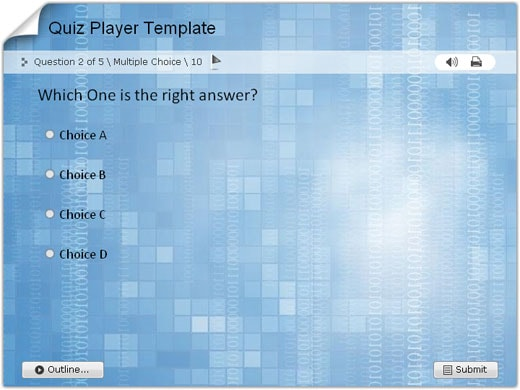 Download Quiz/Survey Player Templates for Wondershare QuizCreator - online quiz templates