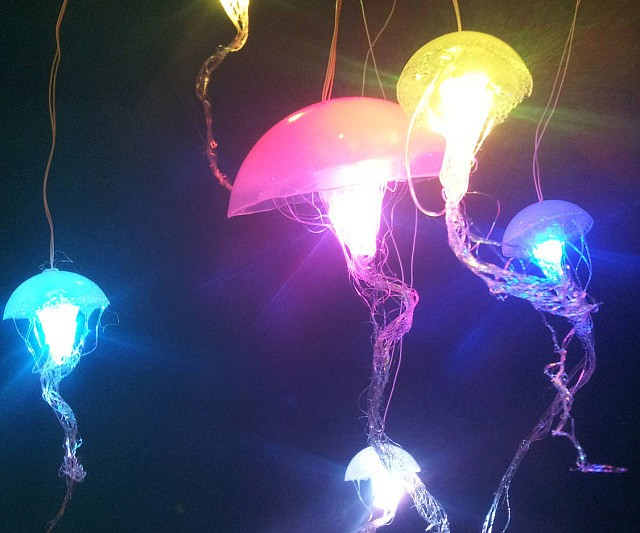 Hanging Jellyfish Lamps 560749 On Wookmark