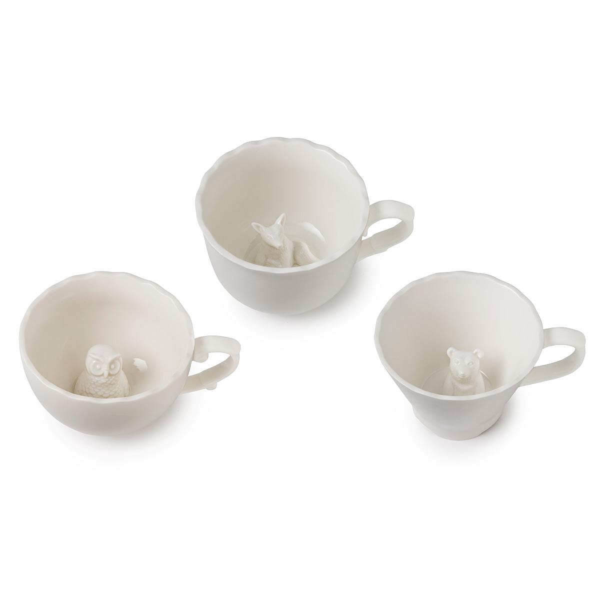 Hidden Animal Mugs China Tea Party Serveware Cup