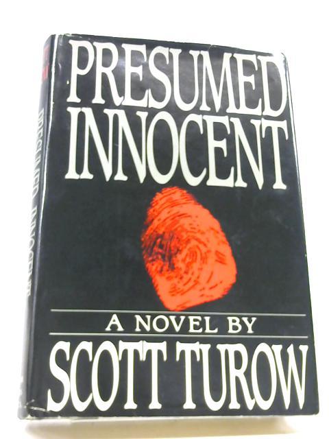 Presumed Innocent (Turow, Scott - 1987) (ID10316) eBay - Presumed Innocent Author