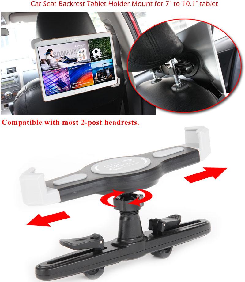 Car Seat Headrest Tablet Holder Mount For 7quot 101quot Mid