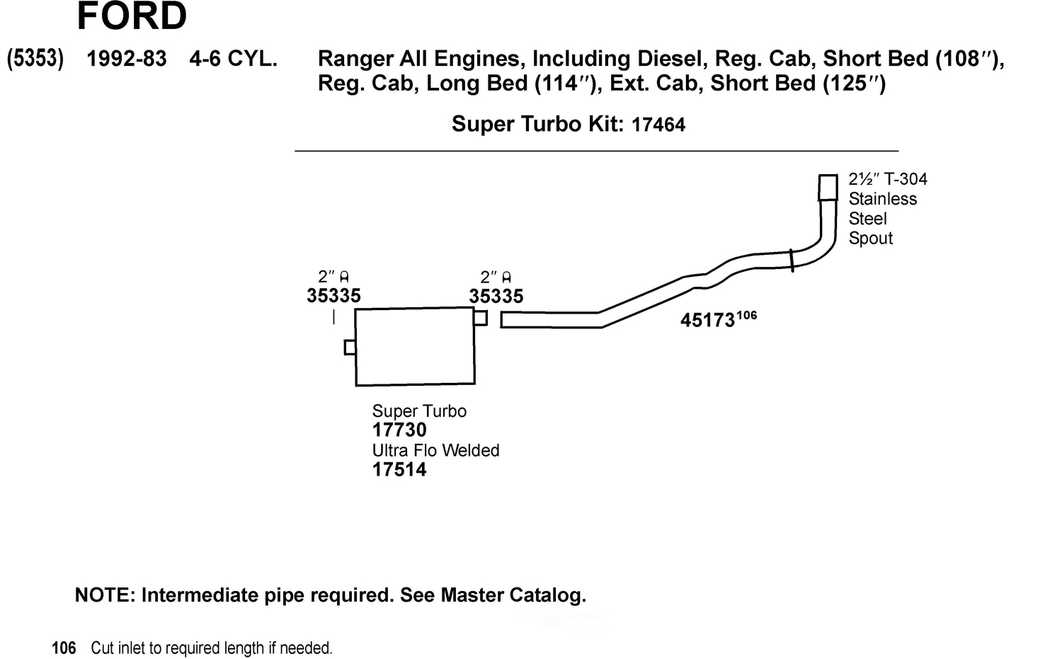99 Ford Ranger Exhaust System Diagram