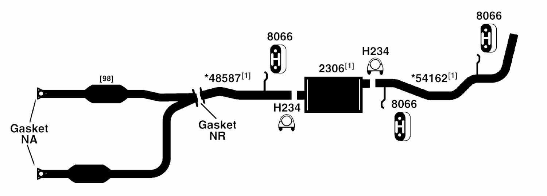 chevy silverado 1500 2002 exhaust diagram