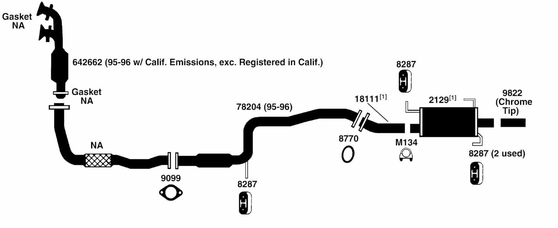 2003 maxima exhaust system diagram