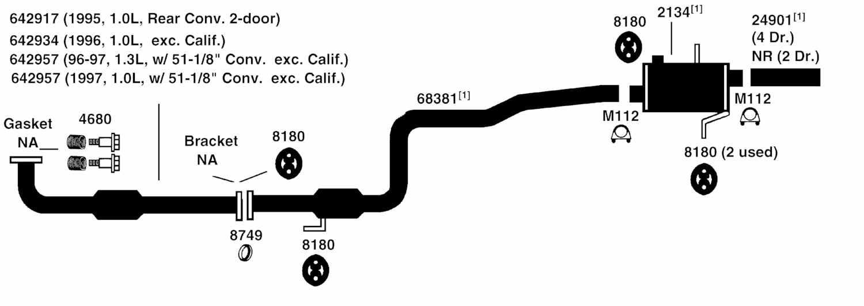 1994 geo metro engine diagram