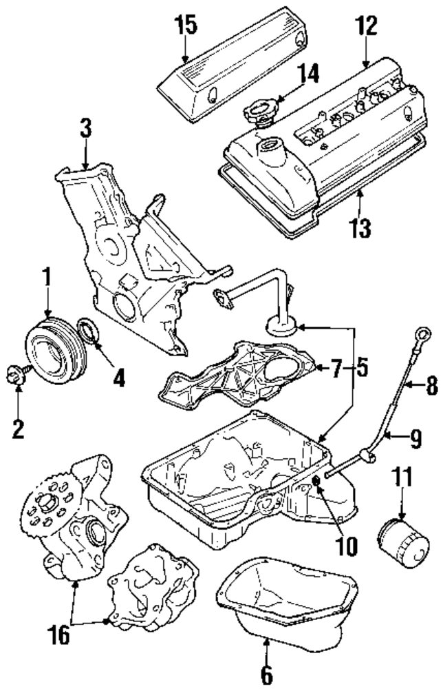 Suzuki Engine Parts Diagram Wiring Schematic Diagram