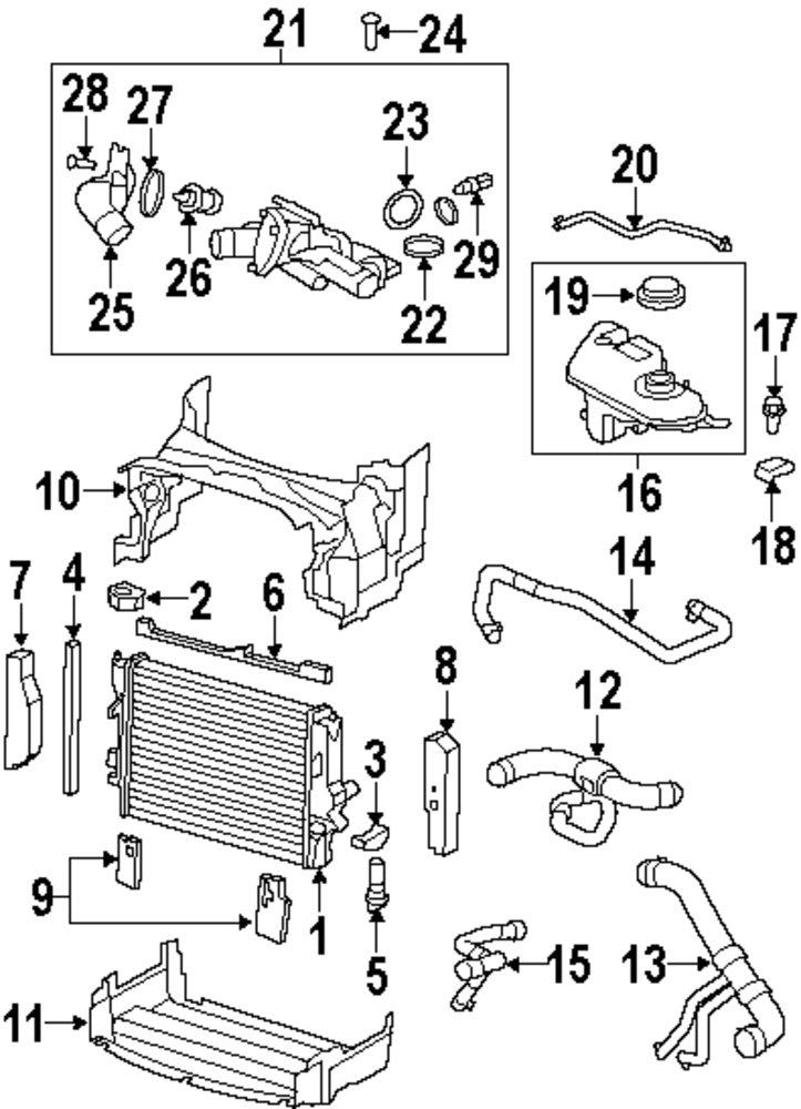 jaguar xk8 engine parts diagram