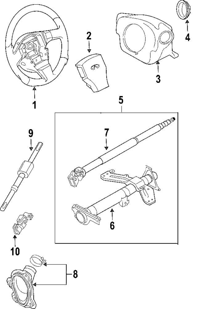2003 infiniti g35 parts catalog