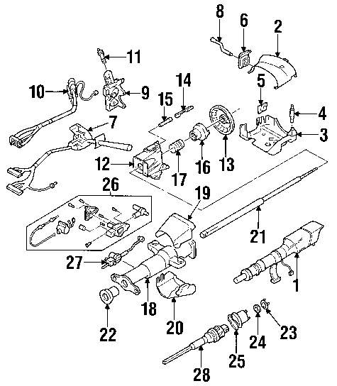 91 s10 steering wheel wiring diagram