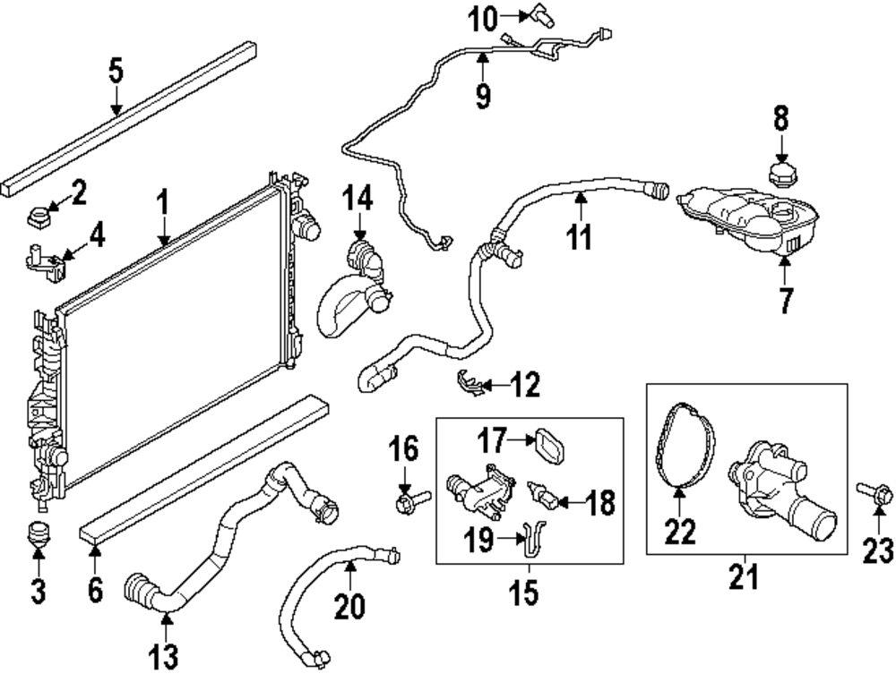 2010 Ford Focus Coolant Diagram Wiring Diagram