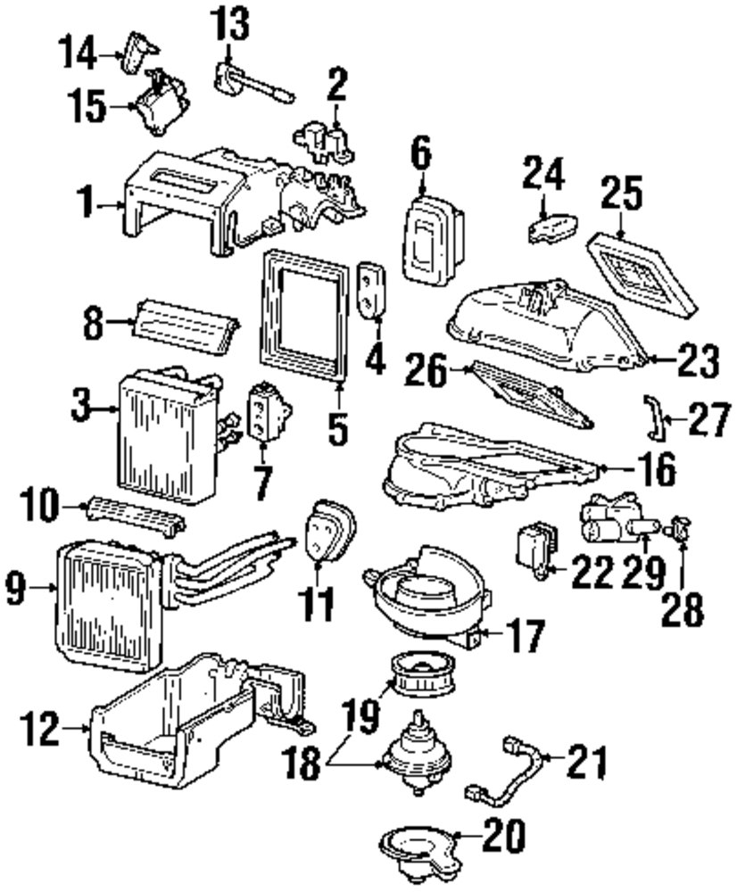 2003 lincoln ls engine diagram