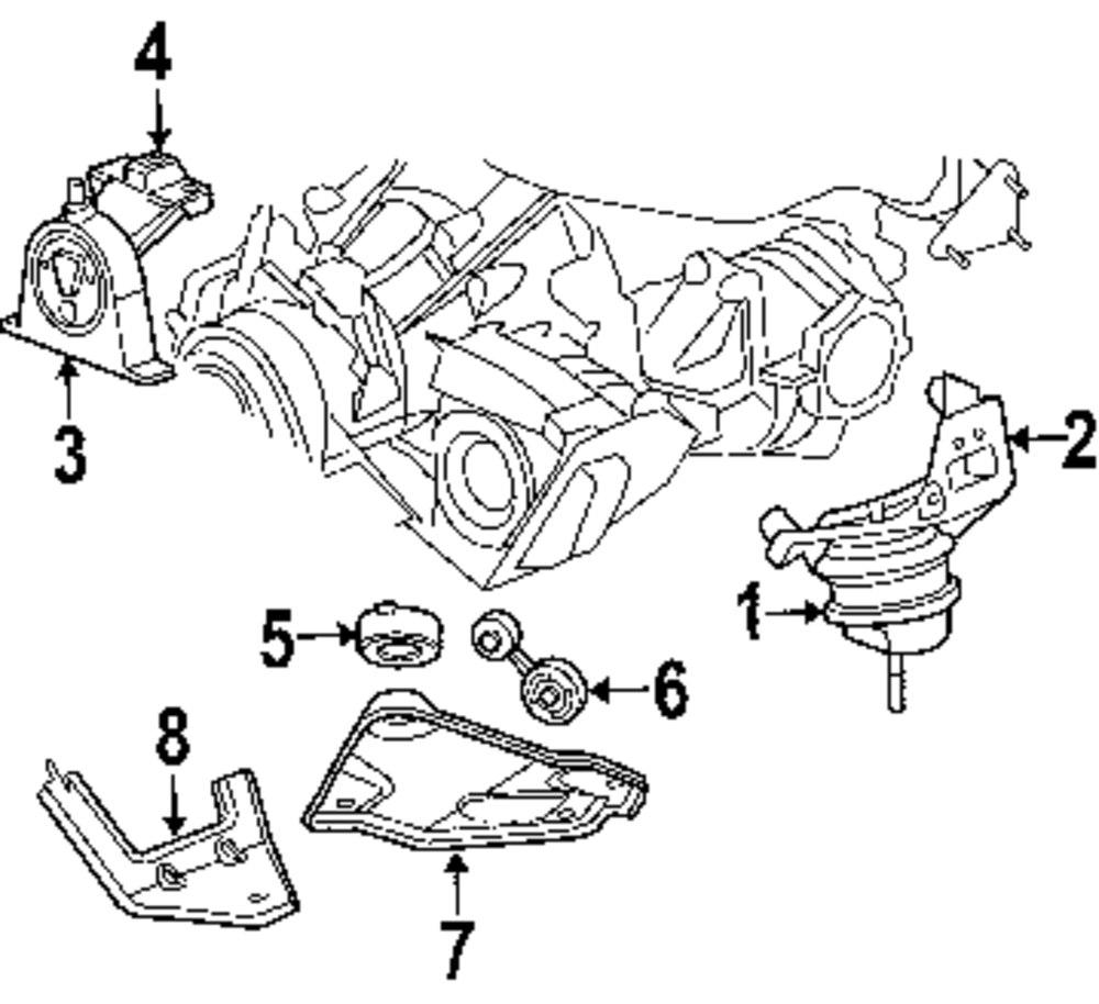 diagram of harness for 2005 dodge magnum motor