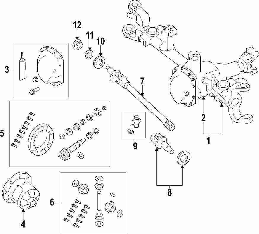 jeep wrangler drive shaft parts diagram