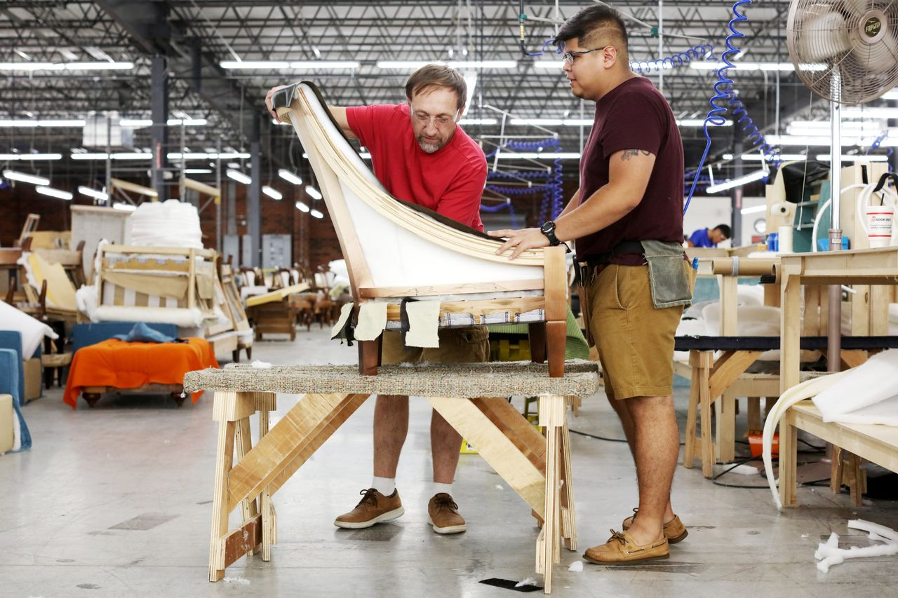The U S Furniture Industry Is Back But There Aren T Enough Workers Wsj
