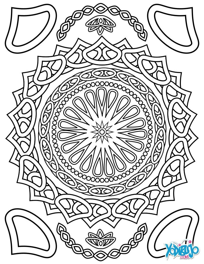 mandala dibujos para colorear y concentrarse auto electrical