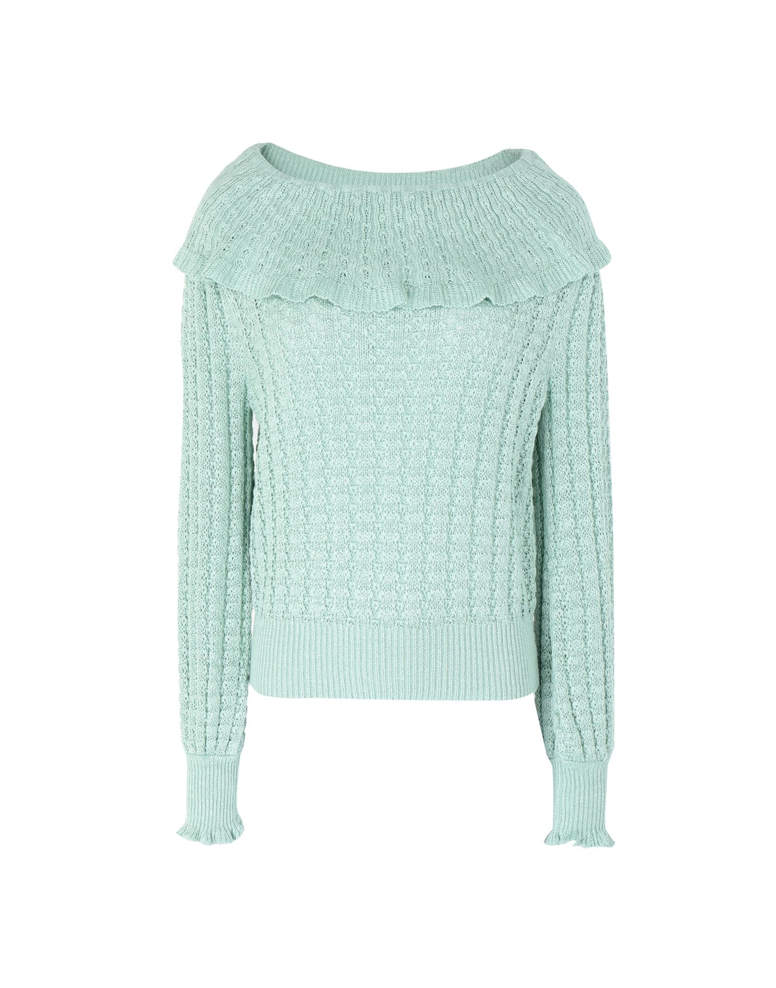 Pieces Pullover Grün Free People Sweater Sweaters And Sweatshirts Yoox Com