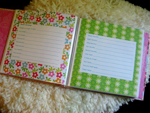 Five Favorite Baby Items  A Free Baby Book Printable Young House Love
