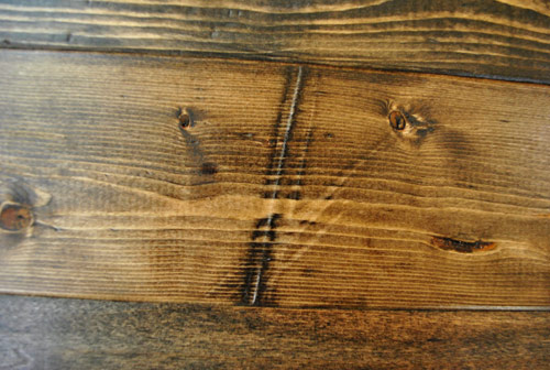 Holz Alt Aussehen Lassen How To Distress Wood (video & Photos) | Young House Love