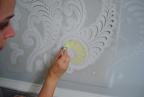 Ten Step By Step Wall Stenciling Tips (You Can Do It!) Young House
