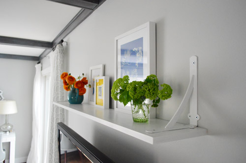 A Cheap Easy Shelf For That Blank Spot Over The Tv