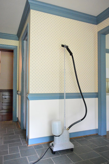 Using A Steamer To Remove Wallpaper | Young House Love