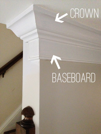 How To Add Extra Beefy Crown Molding | Young House Love