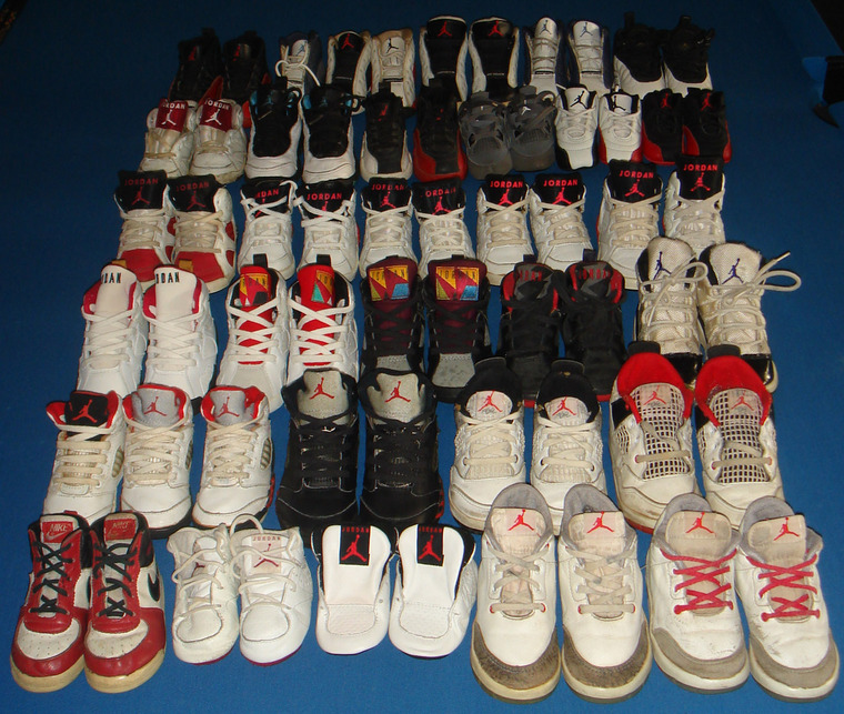 Nike Air Jordan Collection By Sunshining7 Pics In All