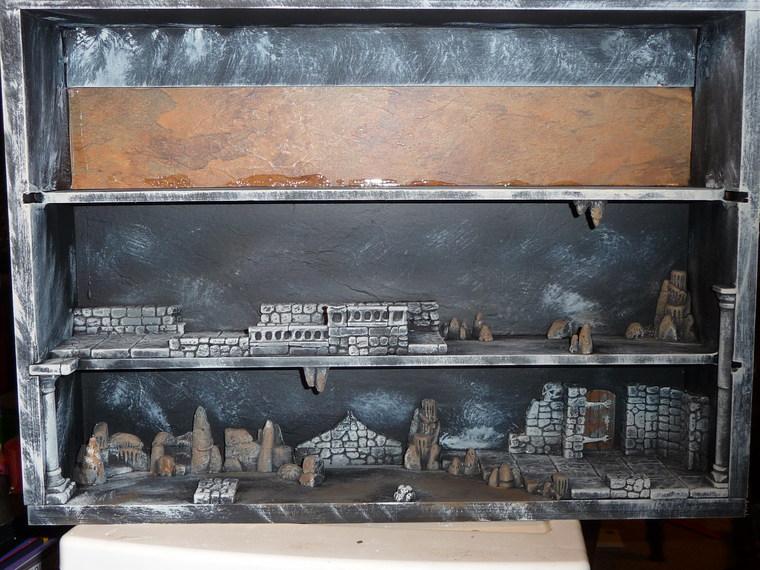 Miniature Display Shelf Hirst Arts