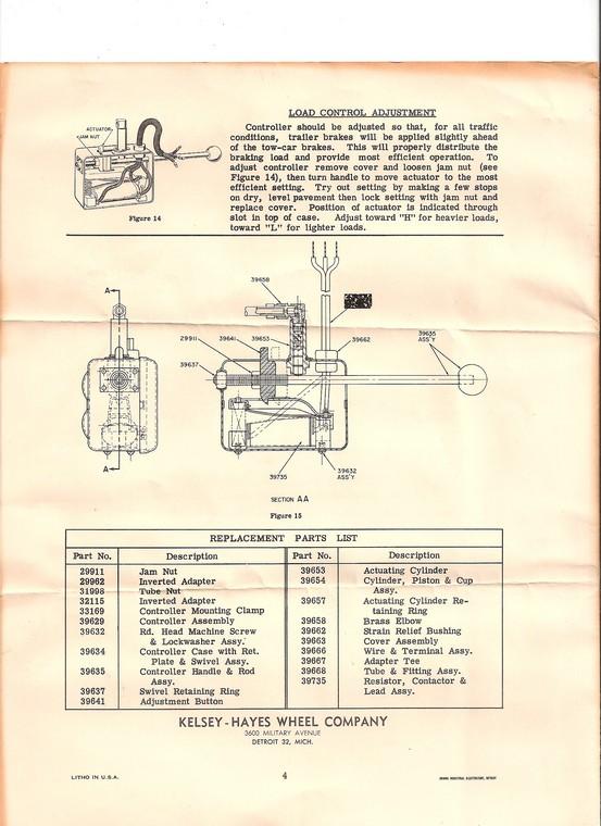 wiring diagram for brake controller