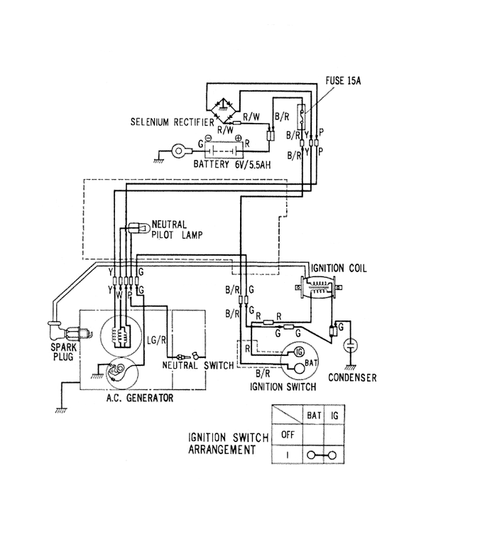 1968 honda ct90 wiring