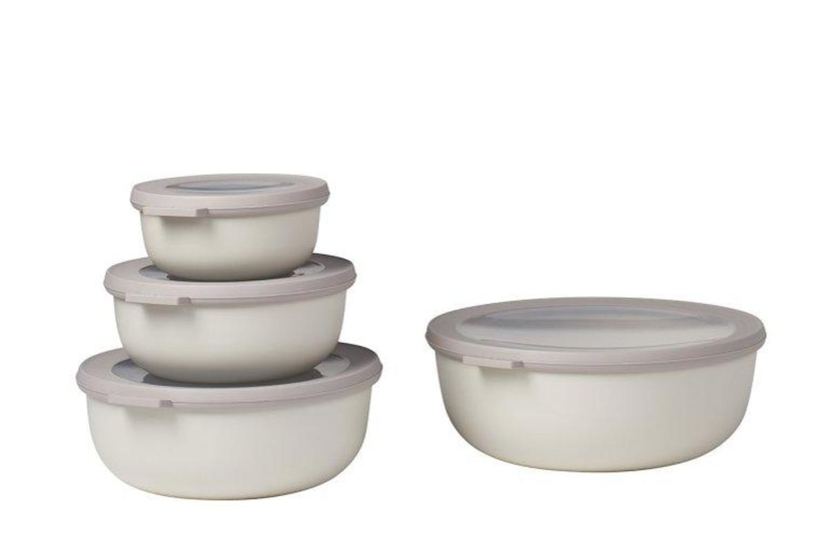 Microwave Safe Bowls Rosti Mepal Microwavable Nested Storage Bowls Grey On Garmentory