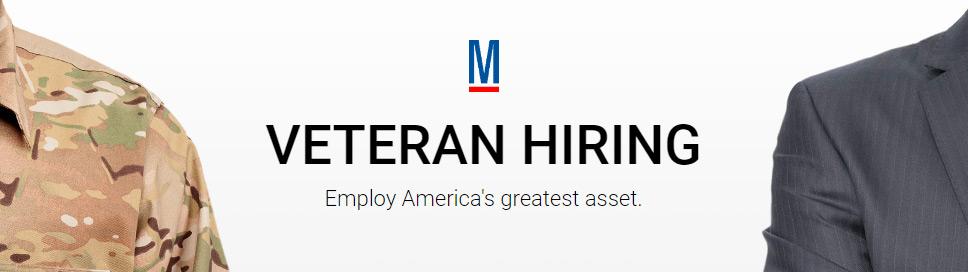 Hiring Veterans Military