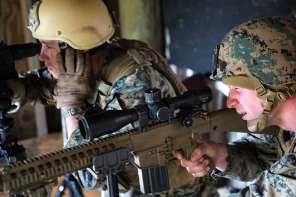 Sniper Alley Marines Participate in Urban Sniper Course Military