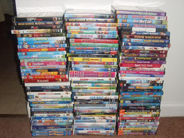 100 Kids Disney Nick Jr Dvd39s For Your Family Each Or 6