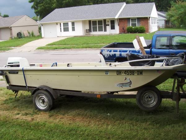 1439 Sears Fishing Boat For Sale In Xenia Ohio
