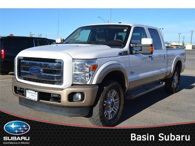 2013 Ford F-250 Super Duty King Ranch 4x4 King Ranch 4dr Crew Cab