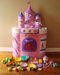 Disney Princess Girl's Magical Talking Kitchen Set ...