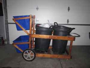 Garbage Can Recycling Cart West Fargo For Sale In