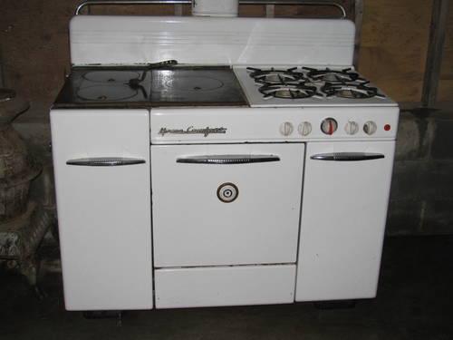 Home Comfort Stove Gas Oven Burners Cole Wood Burners
